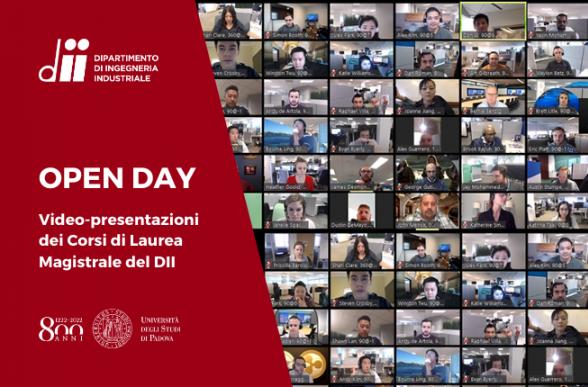 Collegamento a L'edizione virtuale dell'OPEN DAY - DII 2020