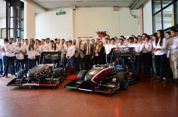 Collegamento a Presentate le due vetture Formula SAE 2019